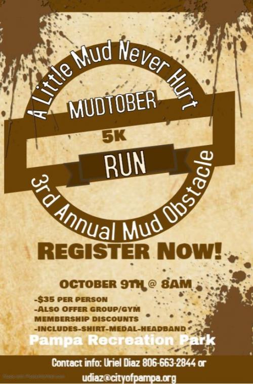 Mudtober Run October 9