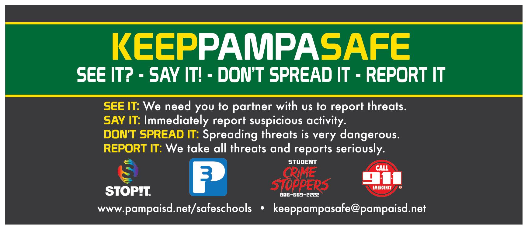 Keep Pampa Safe