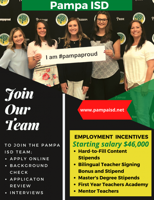 Join Our Pampa ISD Team