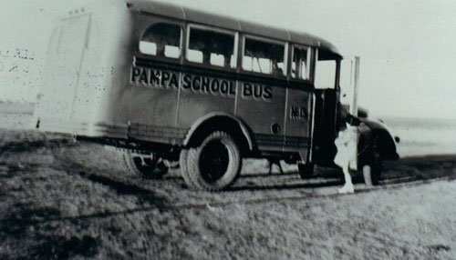 Old Pampa School Bus