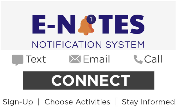 E-note Notification Center Sign-up