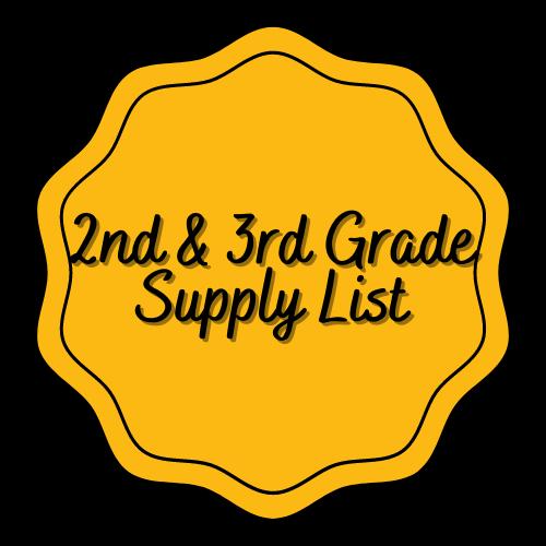 LL Owen Supply Lists