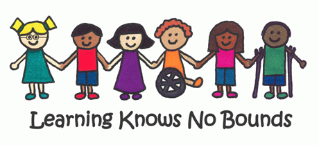 Learning knows no bounds graphic