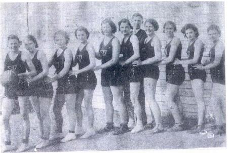 1936 Tupelo Women's Basketball Team