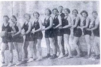 1936 Tupelo Women's Basketball Team