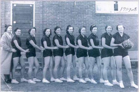 1938 Tupelo Women's Basketball Team