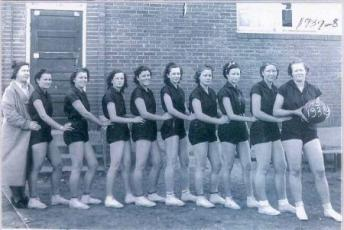 1938 Tupelo Women's Basketball Team