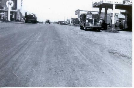 Main St. Tupelo around the 1940's