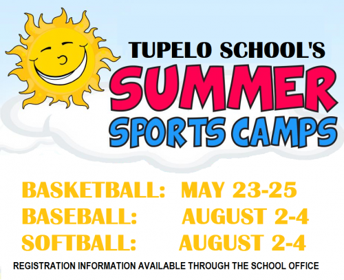 Summer Basketball, Baseball, & Softball Camps