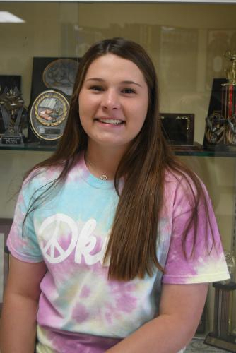 Ava Sliger May HS Student of the Month