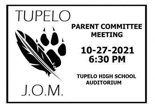 JOM Parent Committee Meeting Oct. 27
