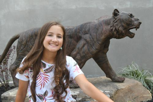 Keira Miller Tupelo JH Student of the Month of August