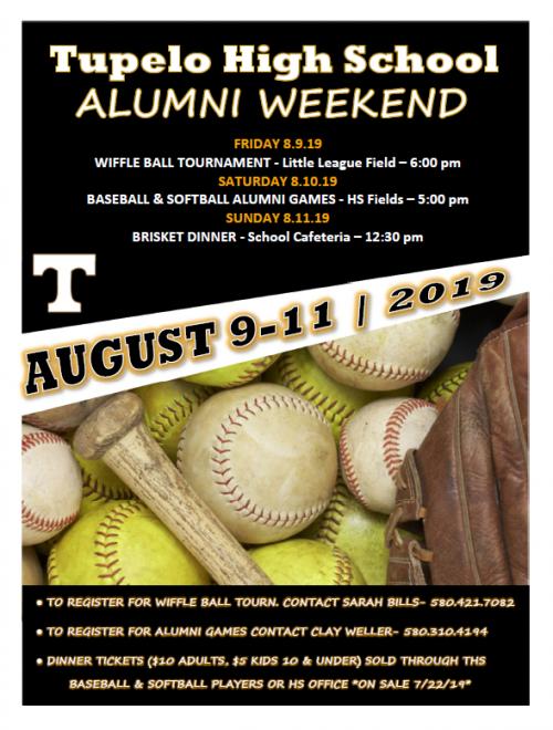 2019 Alumni Baseball & Softball Weekend