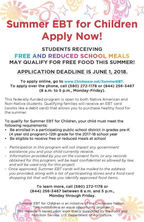 Summer EBT Lunch Program