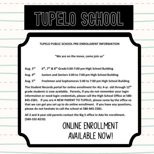 Enrollment Info for 2022