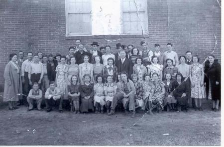 1938 Tupelo School Students