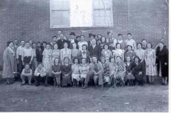 1938 Tupelo School Students
