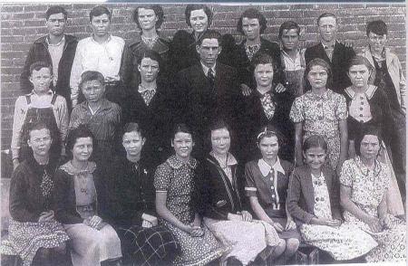 1938 Tupelo 8th Grade Class