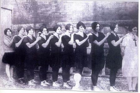 1927 Tupelo Women's Basketball Team