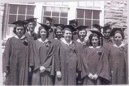 1938 Tupelo Senior Class