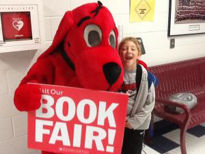 Clifford comes to our school