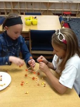 Halloween pumpkin building challenge