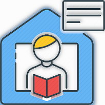At Home Learning icon
