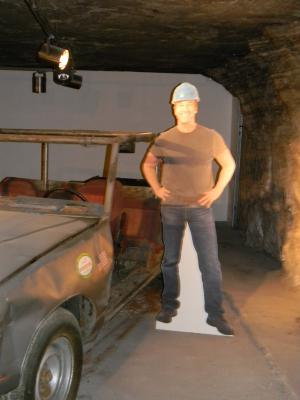 Mike Rowe from Dirty Jobs visited the Salt Mines