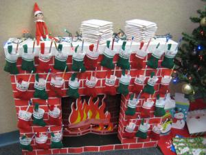 Stockings are full! Thanks, Jingles!