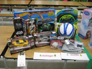 Angel Tree Gifts -- Thanks for your donations!!