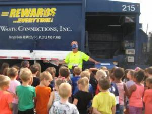Recycle Truck Visit