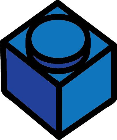 blue 1x1 brick
