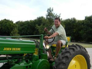 Mr. Pezzola loves tractors