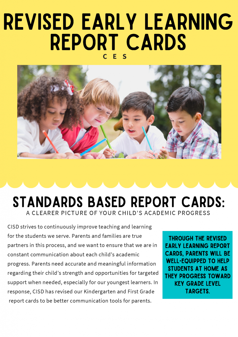 CES Standards Based Report Cards