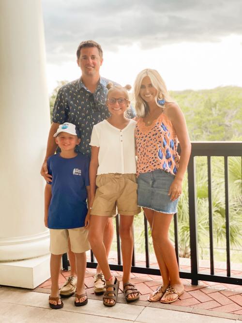 Mrs. Preston Family Pic