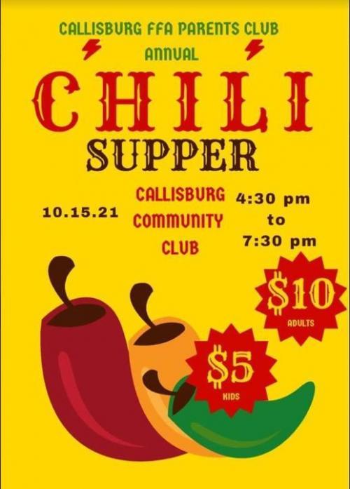 FFA Chili Supper