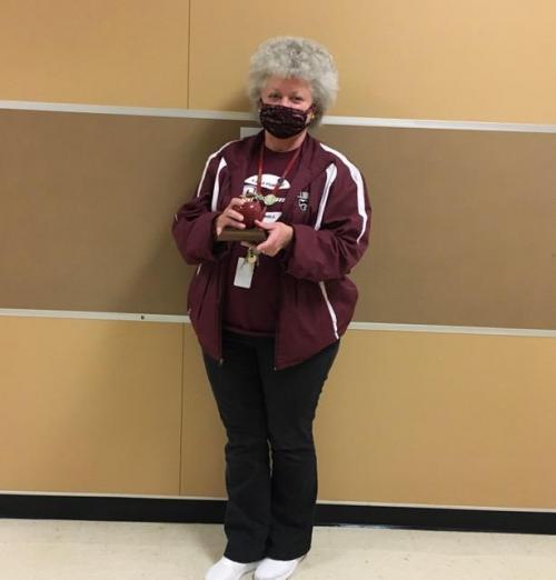 Teacher of the Month Mrs. Evans