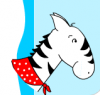 Image that corresponds to ABC Order: Roy the Zebra