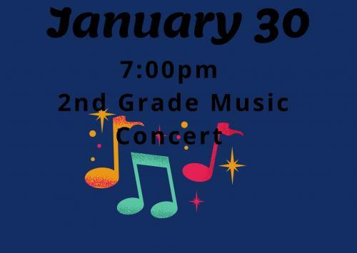 2nd Grade Music Concert