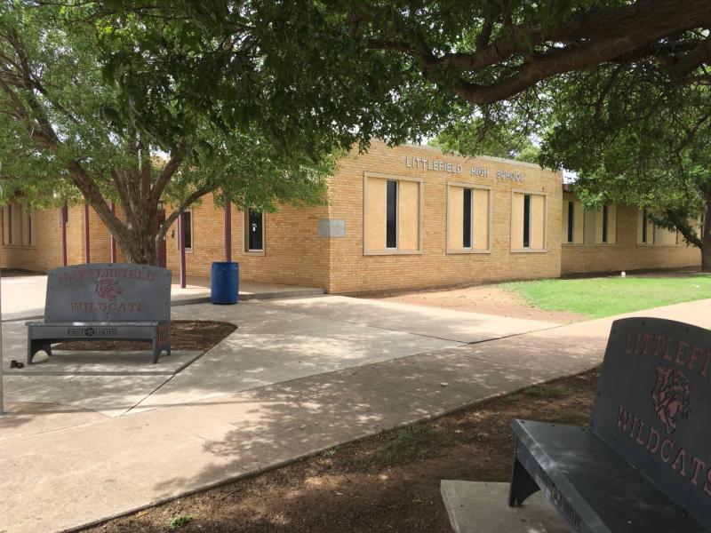 Landscape View facing Littlefield High School