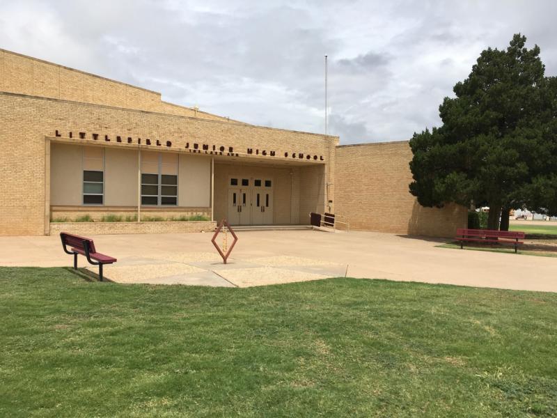 Landscape View facing Littlefield Junior High School