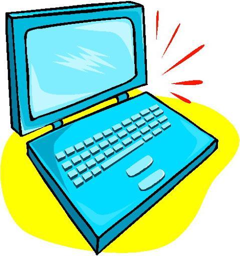 clip art of a laptop