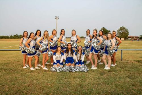 2021-2022 High School Cheerleading Squad