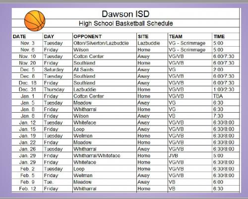 HS Basketball 2020