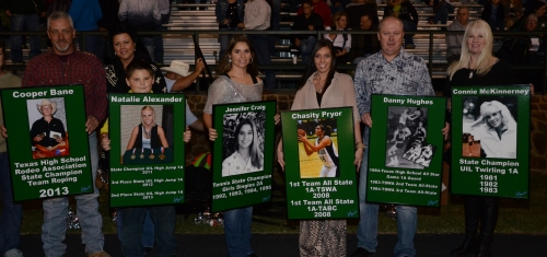 (left to right) Cooper Bane, Natalie Alexander, Jennifer Craig, Chasity Pryor, Danny Hughes, and Connie McKinnerney.
