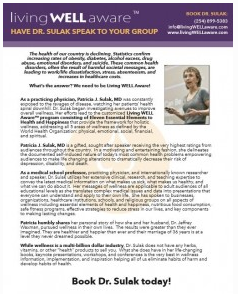 Have Dr. Sulak Speak