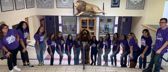 2021-2022 Lion Cheerleaders