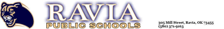Ravia Public Schools Logo