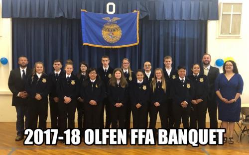 2017-2018 FFA Banquet