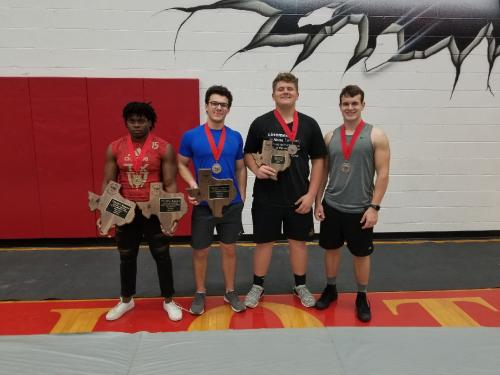 Blue Jay Powerlifting State Qualifiers
